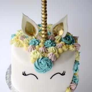 Enhjørningkake! Den hotteste trenden innen kakepynting...