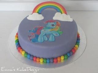 My Little Pony kake