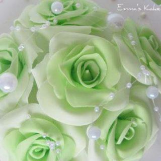 Nydelige roser av fondant